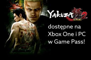 Yakuza Kiwami 2 w Game Pass 30 lipca