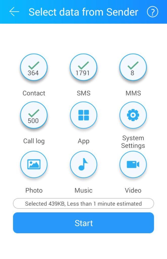 CloneIT - aplikacja do przenoszenia danych na nowy telefon
