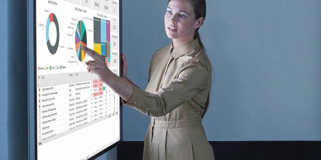 Aplikacja do zarządzania projektami w firmie - Microsoft Project Online