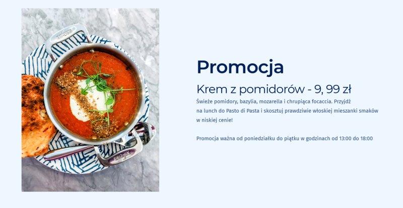 Promocja na stronie internetowej