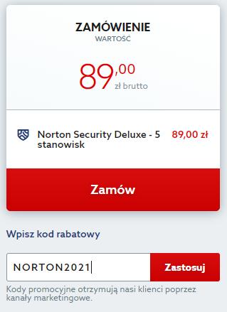 Kod rabatowy na Norton Security. Odbierz zniżkę i korzystaj z antywirusa Norton taniej.