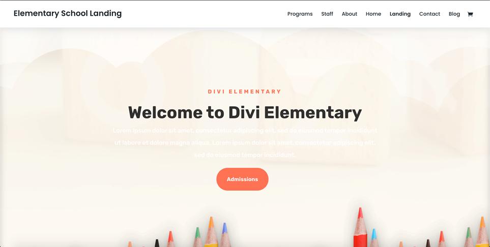 Motyw WordPress do DIVI - szablon edukacyjny