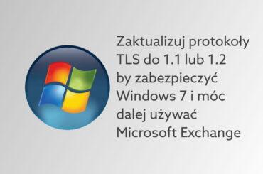 Aktualizacja protokołów TSL dla Windows 7