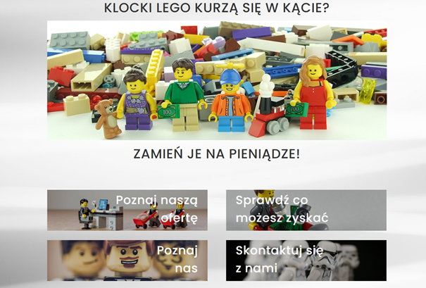 Oferta klocków Lego - skup zabawek