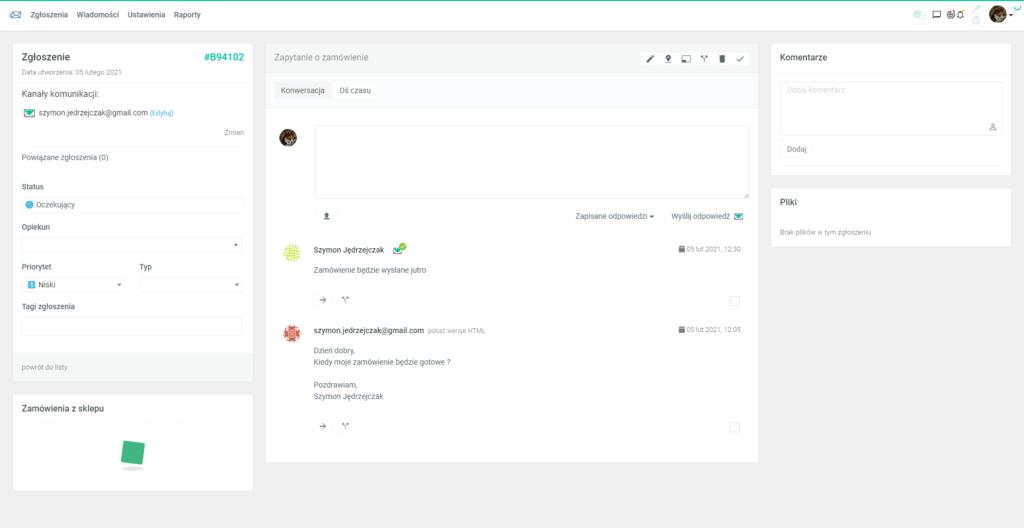 System kontaktu z klientem za pomocą CRM