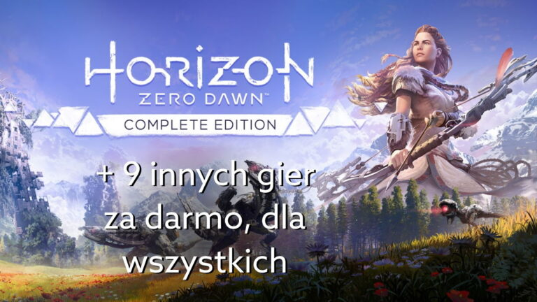 Horizon Zero Dawn za darmo i inne gry w programie PlayStation Play At Home