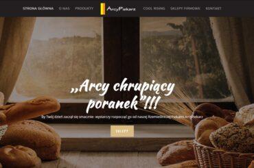 Strona internetowa dla firmy gastronomicznej