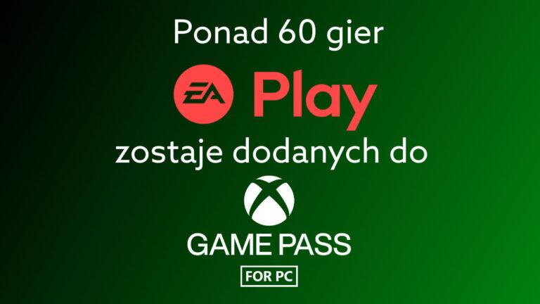 EA Play częścią Xbox Game Pass na PC. Ponad 60 nowych gier od EA dla pecetowców.