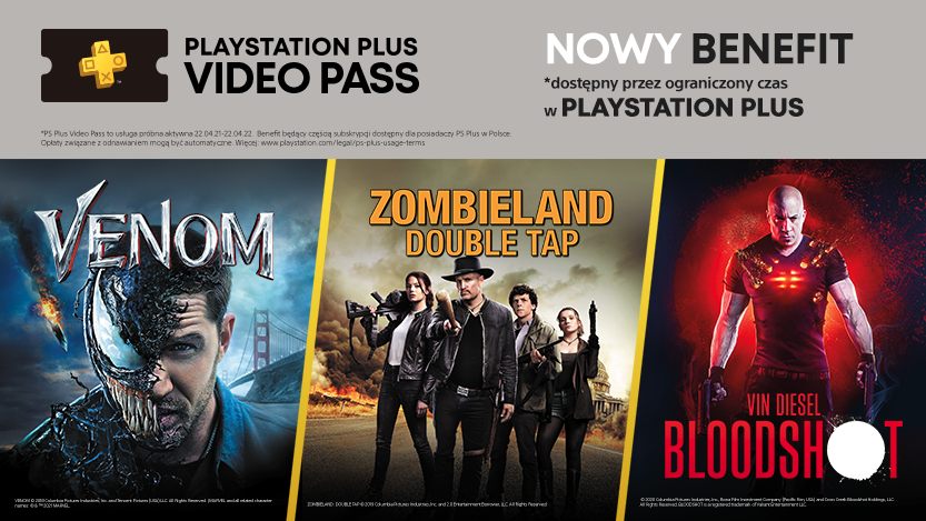 PlayStation Plus Video Pass za darmo