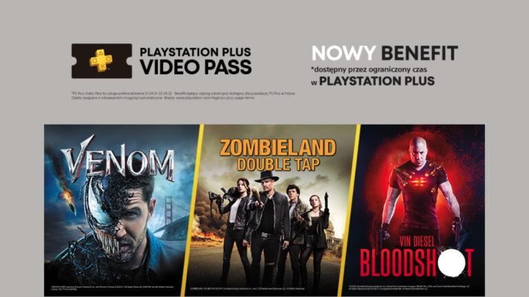 Darmowe filmy przez rok w PlayStation Plus Video Pass