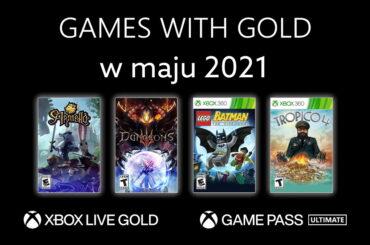 Games with Gold darmowe gry Xbox maj 2021