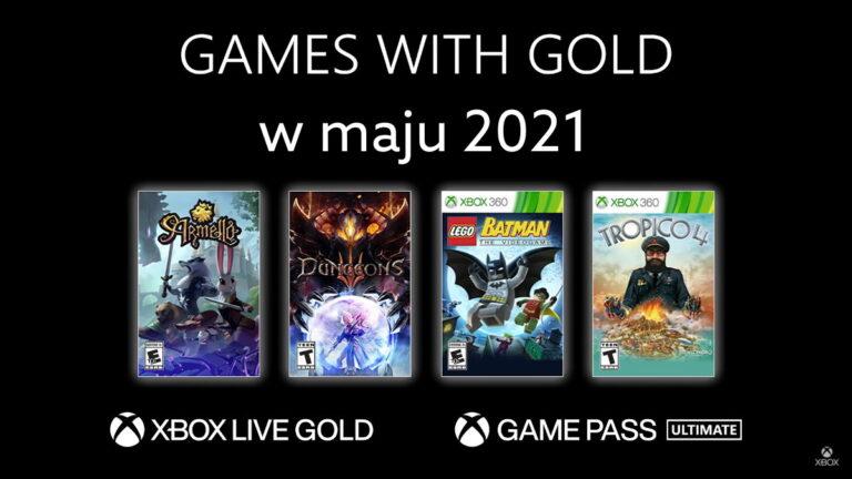 Games With Gold w maju 2021. Darmowe gry Xbox Live Gold