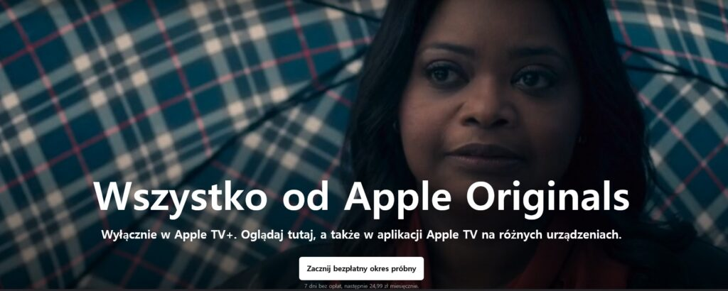 Filmy i seriale na Apple TV+