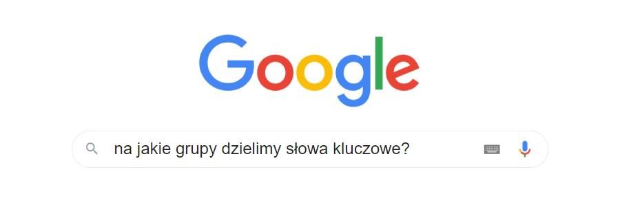 Frazy kluczowe do pozycjonowania w Google