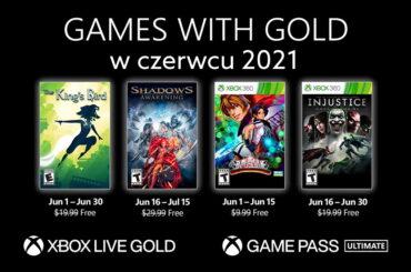 Czerwiec 2021 darmowe gry xbox live gold