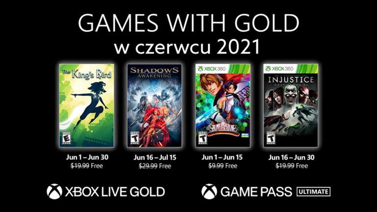 Games with Gold w czerwcu 2021. Darmowe gry Xbox Live Gold