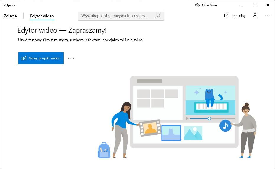 Aplikacja Edytor Wideo w Windows 10