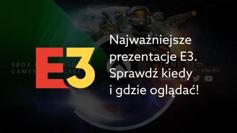 Kalendarz wszystkich prezentacji E3 w 2021. Kto będzie i gdzie oglądać?