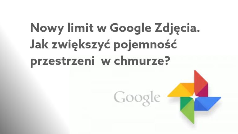 Zdjęcia Google z limitem danych?  – sprawdź, jak zwiększyć przestrzeń w chmurze Google