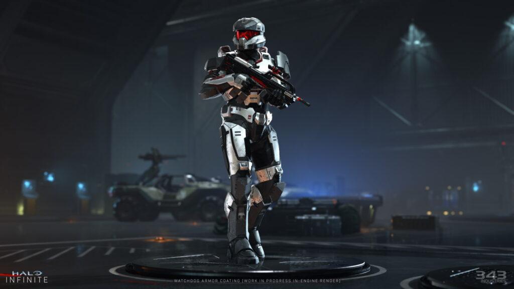 Nowa zbroja Halo Infinite
