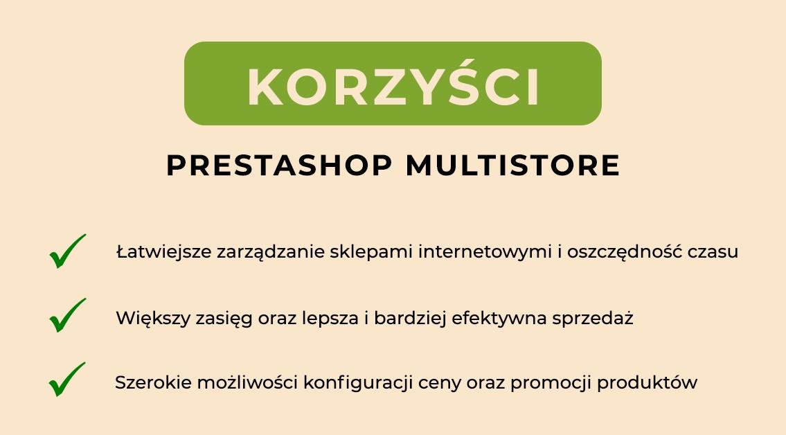 Multistore w PrestaShop - korzyścu