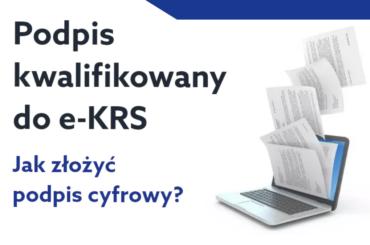 eKRS podpis kwalifikowany