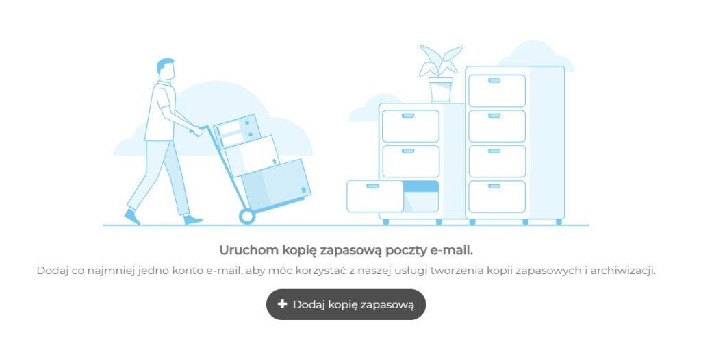 Tworzenie kopii zapasowej darmowej skrzynki email WP, Interia, Onet