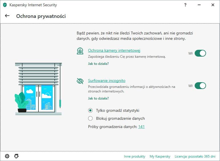 narzędzia ochrony prywatności w Kaspersky