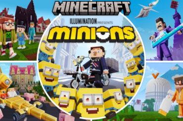 Minionki w minecraft