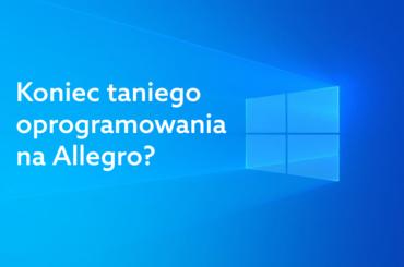 Tanie oprogramowanie na Allegro
