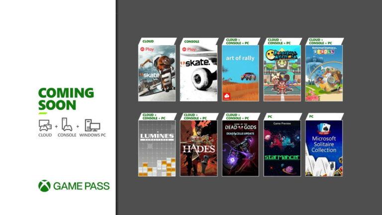 Game Pass w sierpniu 2021: nowe gry Xbox Game Pass w tym miesiącu