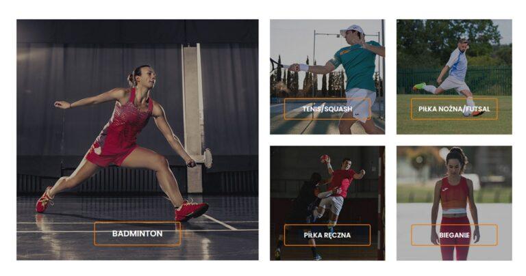 Jak zbudować stronę internetową dla firmy z branży sportowej?