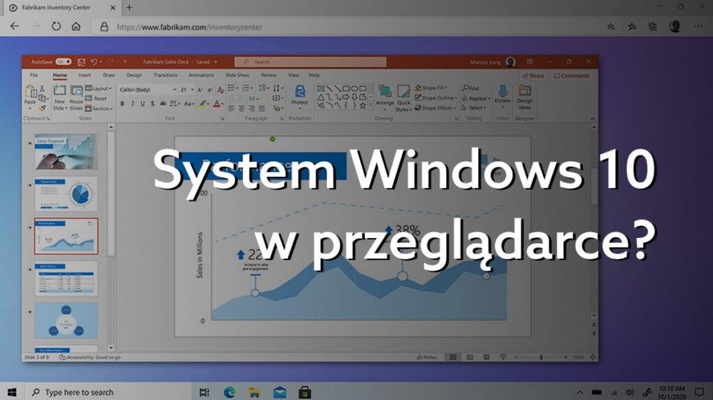 Windows 365 już dostępny. Jak działa system komputerowy w chmurze?
