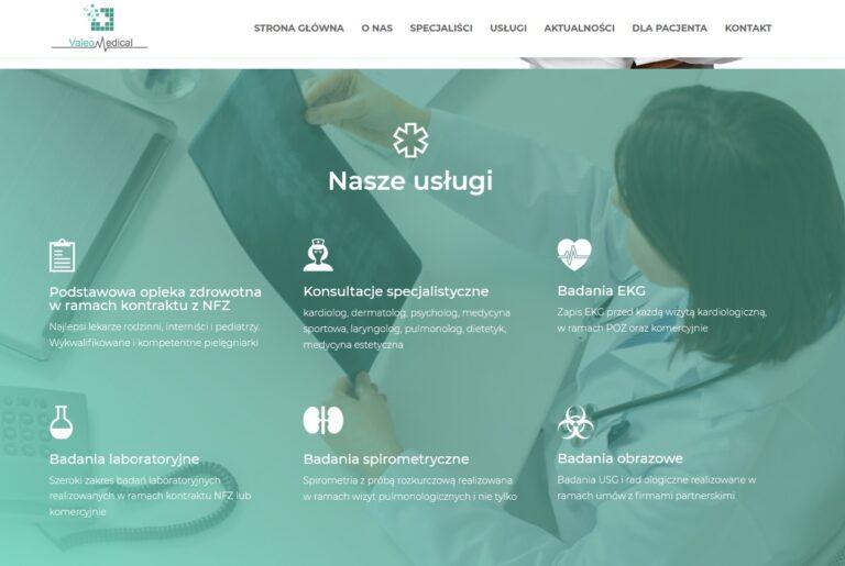 Jak stworzyć stronę internetową dla lekarzy z placówki medycznej?